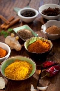 Quick article about the health benefits of the spices turmeric, ginger, cayenne, and cinnamon.