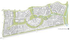 urban design concept, green connector, school master plan