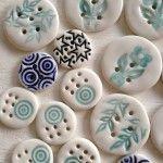 Porseleinen knopen - Hart & Ziel design