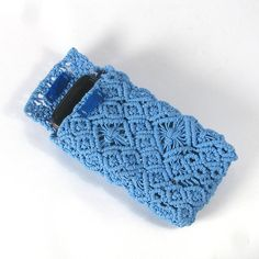 How to Crochet Mobile Cell Phone Pouch for iPhone Samsung - Crochet Ideas Purse Patterns Free, Crochet Purse Patterns, Macrame Patterns, Crochet Purses, Macrame Purse, Macrame Jewelry, Macrame Bracelets, Crochet Phone Cover, Crochet Mobile