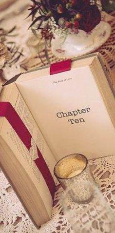 Ideas para decorar tu boda con libros.