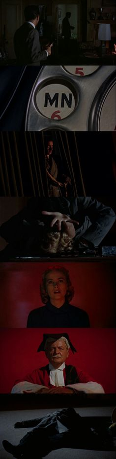 Dial M for Murder(1954). Directed by Alfred Hitchcock