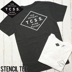 [クリックポスト対応] TCSS ティーシーエスエス STENCIL TEE 半袖Tシャツ SAT1711 | BRAND,TCSS | LUG Lowrs