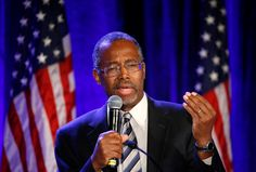 Ben Carson, a retired surgeon popular with Tea Party conservatives. - Earnie Grafton/Reuters