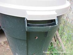 Frugal Ain't Cheap: DIY Compost bin