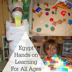 Exploring Egypt Unit Study- Filled with lot's of activities