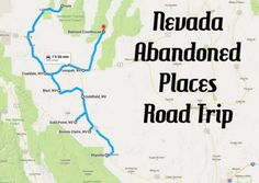 We took several amazing road trips around Nevada in 2016, including haunted journeys, lonely roads, and stunning Christmas lights excursions.
