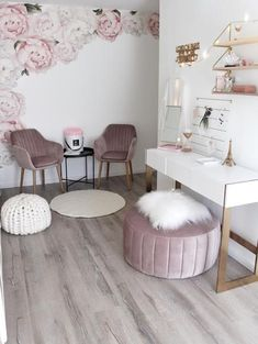 Girls Nursery Decals - Baby Girl Decor - Baby Girl Room - Baby Pink - Nursery Wall Decals - Baby Cute - Baby Fashion - Peony Peony Decor - home - Cute Room Decor, Girl Decor, Baby Decor, Room Decor For Girls, Living Room Decor, Bedroom Decor, Girls Bedroom, Bedroom Ideas, Master Bedroom