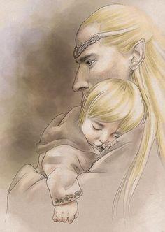 Thranduil et Legolas