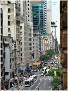 Fifth Avenue, Midtown NYC