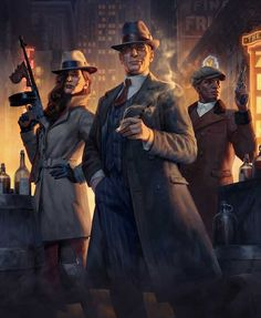 Anime Gangster, Mafia Gangster, Gangster Style, Mafia Game, Detective, Pulp Fiction Characters, Character Inspiration, Character Art, American Frontier