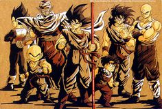 Guerreiros Z - Dragon Ball Wiki Brasil