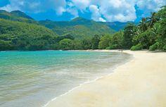 Beach bliss in the Seychelles