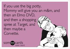 potty training...what ever works.