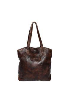 Bed Stu Skye Tote Leather Bag - Teak Brown Leather Purses a4aecc9760ec6
