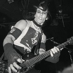 Doyle Wolfgang Von Frankenstein of the Misfits, 1982 : OldSchoolCool Doyle Misfits, Danzig Misfits, Dope Music, Music Love, Rock And Roll Bands, Rock Bands, Rock Roll, Misfits Band, The Misfits