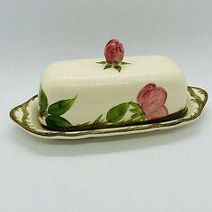 Vintage Franciscan Desert Rose USA Covered Butter Dish Lid  | eBay