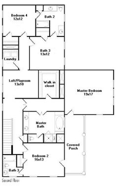 With 2 Story House Plans First Floor Master. With. Home Plan And ...