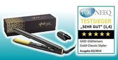 Glätteisen Test 2014 Testsieger GHD Gold Classic Styler