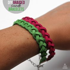 Share Tweet + 1 Mail These bracelets are so easy to make, and a lot of fun to wear. They're very similar to these ...