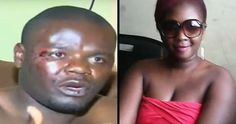 Married Woman Caught With Lover...escape through window