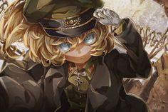 The Saga of Tanya the Evil, Tanya Degurechaff, Tanya / 帝国へようこそ - pixiv Anime Military, Military Girl, Manga Art, Manga Anime, Anime Art, Guerra Anime, Tanya Degurechaff, Tanya The Evil, Evil Anime