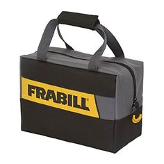 Frabill Ice 3600 Series Tackle Bag  https://fishingrodsreelsandgear.com/product/frabill-ice-3600-series-tackle-bag/  Includes two 3600 series ProLatch stowaway boxes Patented fold-down easy-access bag Color: black
