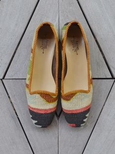 All these Kilim flats are adorable