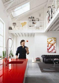 Cozinha SILESTONE VERMELHO Fernando Alonso #CozinhaSilestone #CozinhaVermelha #SilestoneVermelho #CozinhaSilestoneVermelho