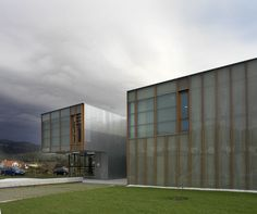 Centro de saude de Muros   Irisarri + Piñera   Muros (2007)   Foto: Juan Rodriguez