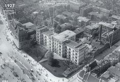 Rotterdam - Coolsingel-ziekenhuis met omgeving, 1927
