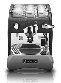 The Epoca ST Semi-Automatic espresso machine is a high-tech Rancilio model, complying with the most advanced technical requirements. Stylish by design and easy to operate, it has all the outstanding qualities of Rancilio coffee machines combining electronics with traditional hardware for higher performance.