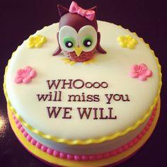 going away cake sayings - Google Search