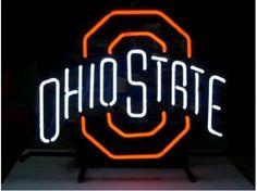 Ohio State Buckeyes Neon Light