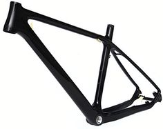 Full Carbon Glossy 26er Mountain Bike MTB Cycling BSA Frame 19' * You can find out more details at the link of the image.