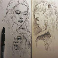 Emilia Clarke by MaryRiotJane