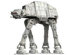 Star Wars - Movable All Terrain Armored Transport (AT-AT) Walker Free Papercraft Download