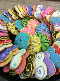 chocolate decorated sugar cookies