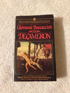 The Decameron by Giovanni Boccaccio Paperback Book   eBay
