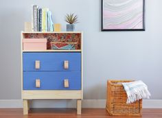 We Hacked the $35 RAST Dresser Two Ways: Happy Modern and Bone Inlay — Video from Apartment Therapy