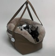 Eh Gia Bag and Bed Hazelnut Hondendraagtas