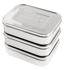 Stainless Steel Food Container Sets by LunchBots