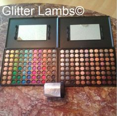 Glitter Lambs: Coastal Scents Eyeshadow Palettes and Mirage Twinkling Silver 1 Ounce Mica Pigment Review