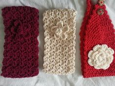 Crochet Headbands Ear warmers