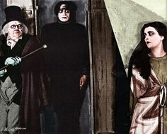 Dr. Caligari's baton and scarf. The Cabinet of Dr. Caligari - Worth1000 Contests