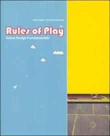 BOOK // Rules of Play | The MIT Press // Game Design fundamentals by Katie Salen and Eric Zimmerman // recommended by Svein Gunnar