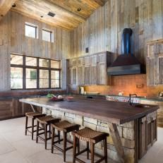 Country-Inspired Kitchen is Rustic, Welcoming