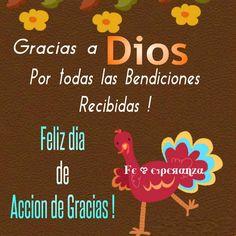Feliz dia de Accion de Gracias