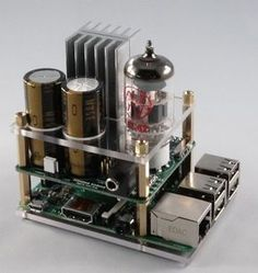 Raspberry Pi goes Hi-Fi with audio valve amp | Electronics Weekly