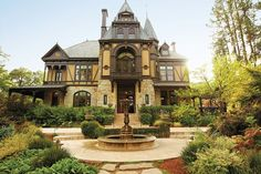The Rhine House at Beringer Winery in Napa Valley, California: